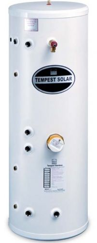 TEMPEST Indirect Twin Coil Solar Slimline